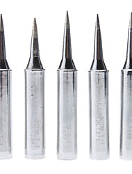 Professional 900M-T-I Lead-Free Soldering Iron Tips  (5 PCS, Silver)