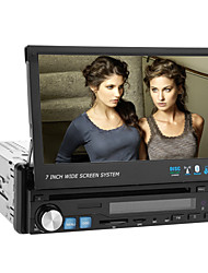 7 Inch 1Din Car DVD Player with GPS Bluetooth TV iPod