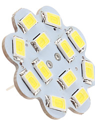 1.5w g4 luces de techo led 12 smd 5630 150 lm blanco natural dc 12 v