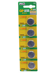 GP Lithium Button Battery CR2032 (3 v)