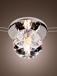 Flush Mount ,  Modern/Contemporary Chrome Feature for Crystal Mini Style Metal Living Room Bedroom Kitchen Study Room/Office