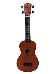 Matata - (UK10BR) Фанера липа Укулеле сопрано с Bag / выборка (коричневый)