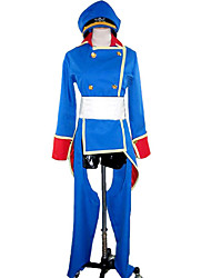 Cosplay Costume Inspired by Macross Frontier Sheryl Nome Blue Uniform