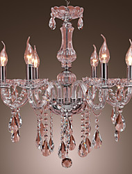 Crystal Chandeliers , Rustic/Lodge Living Room/Dining Room Crystal