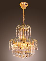 Lámpara Chandelier de Cristal con 10 Bombillas - FOLKESTONE