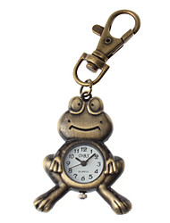 Unisex Frog Design Alloy Analog Quartz Keychain Watch (Bronze) Cool Watches Unique Watches Fashion Watch