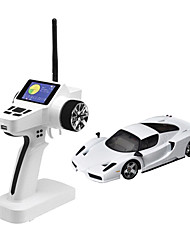 Mini-Z Firelap 1/28 4WD RC Ferrari enzo with 2.4G color screen Transmitter