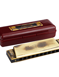 EASTTOP - (T10-A) Antique Finished Blues Harp