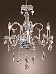 Moddern Crystal Chandelier with 3 Lights
