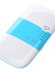 3G MIFI Portable Mini Router with Sim Card Slot (WIFI Hotspot + WCDMA HSPA AP Hotspot)