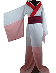 Inspired by Nurarihyon's Grandson Kejoro Anime Cosplay Costumes Cosplay Suits / Kimono Patchwork Red Long Sleeve Kimono Coat / Belt