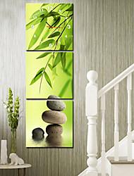 style moderne scénique toile horloge murale 3pcs K166