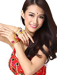 Performance Dancewear Alloy Flower Design Belly Dance Bracelet For Ladies More Colors(1 Piece)