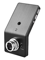 2,4 polegadas 120 graus Wide Angle DVR carro Ver com microfone embutido