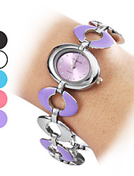 Women's Alloy Analog Quartz Bracelet Watch (Multi-Colored) Cool Watches Unique Watches