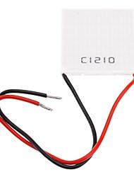 C1210 Telluride semi-conducteurs Plaque de refroidissement Cooler (Blanc, DC12V / 10A)
