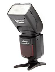 OLOONG Flash eletrônico Speedlight SP-680 com a Case Soft & mini suporte para Canon 5D MarkII Canon 600D 7D 30D