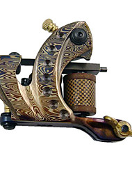 Damascus Steel Tattoo Machine Gun for Liner
