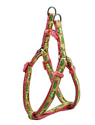 Little Car Pattern Harness and Leash for Dogs (Assorted Color)