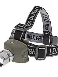 Lights LED Flashlights/Torch / Headlamps LED 200 Lumens 3 Mode Cree XR-E Q5 AAA Tactical / Self-Defense Rubber