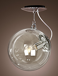 Pendant Light ,  Modern/Contemporary Globe Anodized Feature for Mini Style Metal Living Room Bedroom Dining Room Kitchen