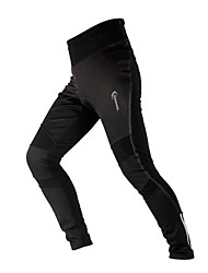 Cycling Pants Men's Bike Breathable / Thermal / Warm / Quick Dry / Windproof / Reflective Strips Tights / BottomsSpandex / Polyester /
