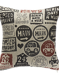 Some Kinds Of Stamps Decoration Pillow With Insert