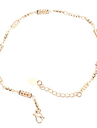 Chain Gold-plated Anklet