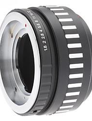 DKL Obiettivo per Micro 4/3 Four Thirds System Camera Mount Adapter per Olympus PEN E-P1 E-P2 Panasonic Lumix DMC-GF1 GH1 G1