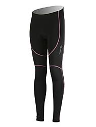 90% Spandex Ployester +10% + Fleece Matériel de maintien au chaud Pantalons pour femmes Vélo 48623