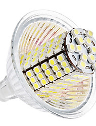 5W GU5.3(MR16) Lâmpadas Espiga MR16 120 SMD 3528 420 lm Branco Natural DC 12 V