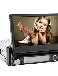 7 Inch 1 Din Car Dvd Player with Bluetooth, iPod, RDS