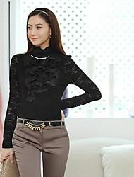 CHAO LIU High Neck Lace Shirt (weitere Farben)