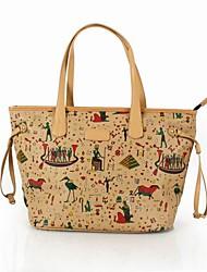 София Roland красочный стиль художника сумка (34 * 18 * 29см)