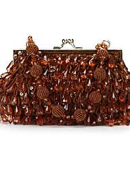 Unique Acrylic with Drops Evening Handbag/Clutches(More Colors)