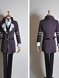Inspirado por Vocaloid Kamui Gakupo Vídeo Juego Disfraces de cosplay Trajes Cosplay Retazos Negro Manga LargaAbrigo / Chaleco / Camisas /
