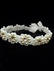 Women's Satin/Lace/Rhinestone/Imitation Pearl Headpiece - Wedding/Special Occasion/Casual Headbands