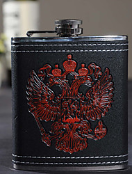 Gift Groomsman Eagle Design 7-oz Flask