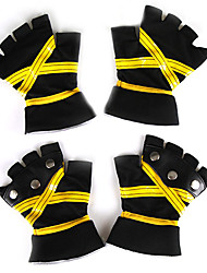 Sora Black and Yellow Cosplay Gloves