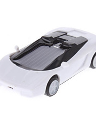 Solar Power Mini Car Racing (Bianco)