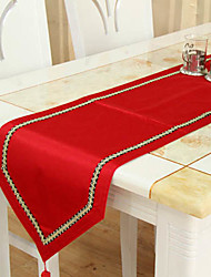 Classic Red Table Runners