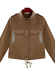 Alan Casual Botton Trench Jacket