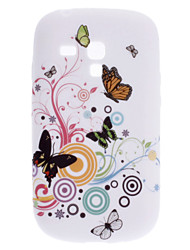 Elegant Butterfly Pattern Soft Case für Samsung Galaxy S3 Mini I8910
