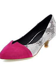 Leatherette Low Heel With Split Joint Party/Evening Shoes (More Colors)