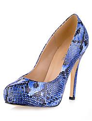 Fabulous lakleder Naaldhak pompen met dierenprint partij / avond schoenen (meer kleuren)