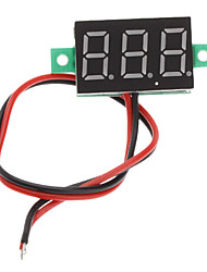 "V20D 0,56 ""a due LED Linea 3-Digital Direct-Current Meter Voltmetro modulo (bianco + verde, DC 2.5 ~ 30V)"