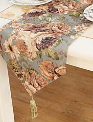Imprimer Runners traditionnels Polyester Tableau Floral