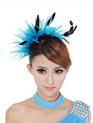 Dancewear Performance Pluma Latin Dance tocados más colores