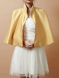 Wedding / Party/Evening Satin Coats/Jackets Sleeveless