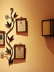 Antique Metal Baum Picture Frame K12